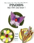 Card & Tac Pin, Planet Studios PINOIDS Butterfly Ladybug Daisy Dragonfly Cattail