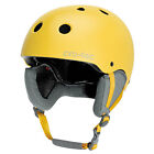 ProTec Classic Snow Womens Snowboard Ski Helmet New 2013 Satin Yellow 12
