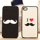 1x Lovely Kind Lover/Couple's Hard Case Cover For iPhone 4 4G 4GS Back Skin