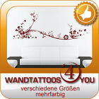 WANDTATTOO - filigranes Ornament, Ranke, aufwändiges Design - M291