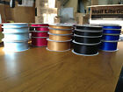 Double Sided Satin Ribbon  10mm, 15mm, 23mm, 38mm, various colours