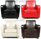 THE HAVANA ARMCHAIR TUB CHAIR NEW FAUX LEATHER NEXT DAY PRE 12PM DELIVERY