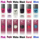 NV Nail Varnish Polish Shatter Crackle 6 Effects Colours *Ideal Gift*
