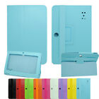 "Tablet PC MID Multi-color PU Leather Case Stand Cover for 7"" Q88 A13 Andriod 4.0"