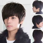 Fashion Sexy New Korean Style Men Short Full Wigs Cosplay Party Hair 3 colors