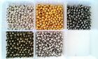 Premium Quality Nickel Free Roumd spacer beads 4mm, 3.2mm, 2.4mm in 6 colours