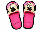 Women Men Adult Mickey Minnie Mouse Donald Daisy Duck Pluto Plush Slippers Shoes