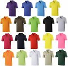 Mens Just Cool polo tshirt, AWDIS, breathable, lightweight, wicking fitness tee