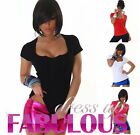NEW SEXY WOMEN'S LADIES SHORT SLEEVED KNIT TOP BOLERO STYLE PARTY CASUAL CLOTHES