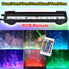 RGB Remote Color Changing LED SMD Aquarium Fish Tank Light Lighting Submersible