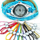 Womens Bracelet Quartz Battery Wristwatch Lady Quartz Candy Wrist Watch B41U New