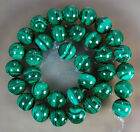 12mm A++ Natural Green Malachite Round Beads 15.5""