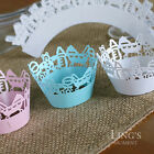 Cut out Cupcake Wrappers Cases Decoration Wedding Party Anniversary Decor