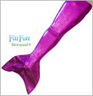 Mermaid Tail by Fin Fun - Swimmable Girls Tail - Purple Sky - No Monofin