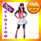 CK45 Child Girl Monster High Draculaura Costume Fancy Dress Up Party Outfit