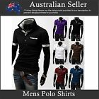 Mens Polo Shirts Slim Fit designer Sexy Slim Fit Casual Wear - Soft Cotton