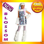 CK50 Monster High Abbey Bominable Child Girl Costume Fancy Dress Up Party Outfit
