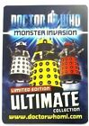 Doctor Who Monster Invasion Ultimate CHOOSE YOUR CARD *free UK P&P*