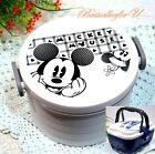 Authentic Mickey Mouse 2 Layers Lunch Box Bento Food Container Microwave OK