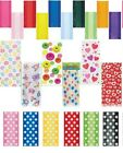 POLKA DOTS CELLO BAGS, CAKE, GIFT, LOOT, PARTY BAGS, DESIGNS AND PLAIN COLOURS