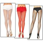 Fishnet Pantyhose with Backseam Hosiery Adult Womens Halloween