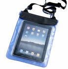 Blue Waterproof Dry Bag Pouch Case Cover for PC Tablet TAB Ebook Reader 7 7in