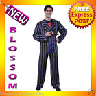 C776 The Addams Family - Gomez Halloween Fancy Dress Adult Costume