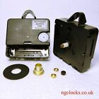 Hechinger Replacement Euroshaft clock movement with fixings and 11mm short shaft