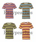 Alternative Apparel UGLY STRIPE ECO Jersey Short Sleeve T-Shirt Mens S-L XL 2XL