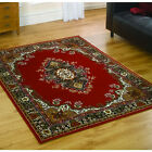 Flair Element Lancaster Rug in Red - Various Sizes Available