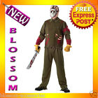 C790 Friday the 13th Jason Deluxe Halloween Fancy Dress Adult Costume