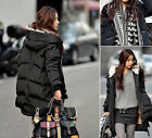 Hot Women's Winter Thicken Hooded 90% White Duck Down Down Jacket Warm Coat