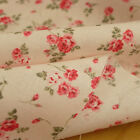 1/2 Meter TINY PINK ROSES 100% Cotton Fabric Width:110cm - Pink & Blue