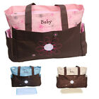 Baby Diaper Bag Nappy Tote Messenger Changing Bag 3 Color you pick 08111