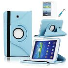 For Samsung Galaxy Tab 3 7.0 Rotating 360 Case Cover w  Stand 7