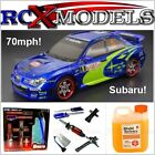 Nitro Subaru Impreza RC Rally Car Radio Remote Control Petrol Race Drift Fast UK
