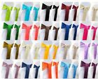 25 pieces Wedding Party Banquet 6x108inch Satin Chair Cover Sash Bow 16 color