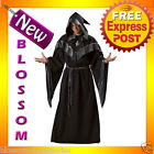 C638 Dark Sorcerer Mens Elite Halloween Fancy Dress Up Party Costume Outfit
