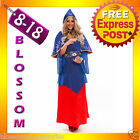 I30 Game of Thrones Costume Sexy Gypsy Mystical Sorceress Fortune Teller Dress