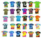 PEACHES - Brand NEW Tie Dye T-shirts, S,M,L,XL,2X,3X, Blank, Tye Died, Dyed Tee