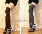 Spring  silk stockings Sexy 1 Pc Lady Women's Knit Thigh Knee High Socks 6 Color