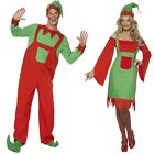 CHRISTMAS FANCY DRESS COSTUMES ELF GINGERBREAD TURKEY SANTA BODYSUIT WIG