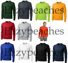 Внешний вид - NEW Men's SPORT TEK Dri-Fit Big & Tall Long Sleeve T-SHIRT LT-4XLT TST350LS