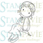 PENNY JOHNSON GRETCHEN DESIGNS-Stampavie Clear Artc Stamp-Stamping Craft-RETIRED