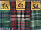 Scarf MacDonald Tartan Scottish Plaid Ships free in US