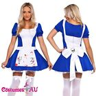 Womens American McGee's Mad Costume Alice In Wonderland Halloween Fancy Dress