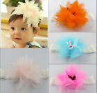 New Korean Baby Headband Large Flowers Princess Photograph Hairband Hot Sell