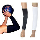 1 Pair Arm Sleeve Cover armband Sport Skins Stretch UV Sun Bike Golf basketball