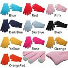 Fashion Winter girls Magic Knitting Touch Screen Gloves Full Finger Mittens
