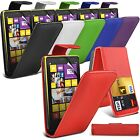 Case for Nokia Lumia 1020, Leather Flip Skin + FREE Screen Protector (6 colours)